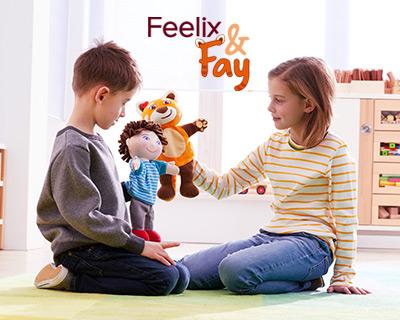 Mit Feelix & Fay die Emotionskontrolle fördern