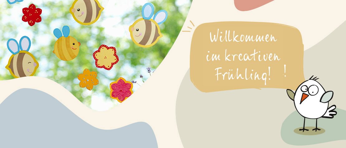 Kreativer Frühling