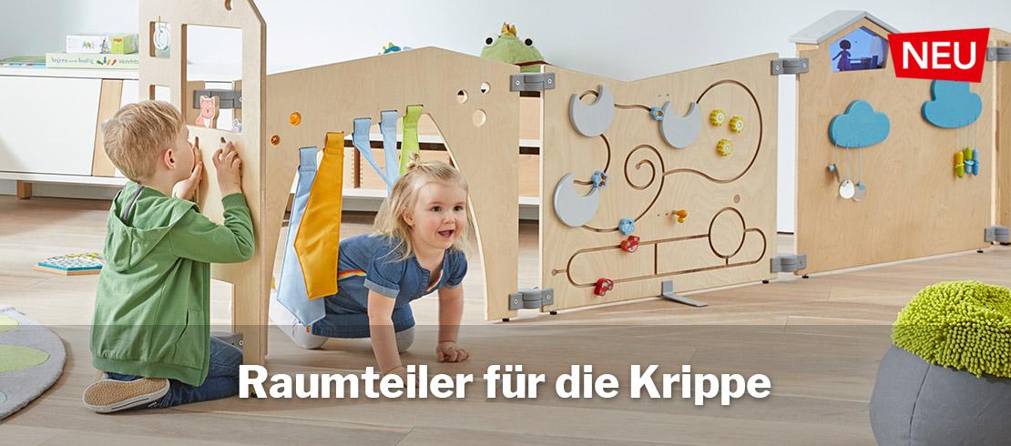 Raumteiler für Krippe und Kindergarten