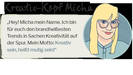 Kreativ-Kopf Micha