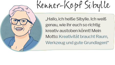 Kenner-Kopf Sibylle