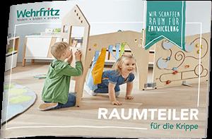 Wehrfritz Broschüre: Raumteiler für die Krippe