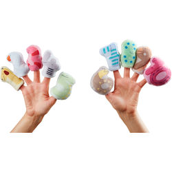Willy's Finger Puppets 1-10